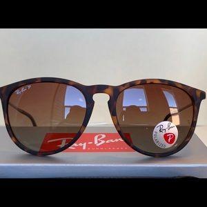 Ray Ban Erika Tortoise Polarized Sunglasses